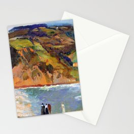 Joaquin Sorolla Shore of San Sebastian Stationery Cards