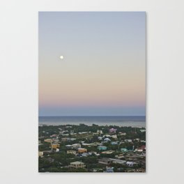 Flying over San Pedro Canvas Print