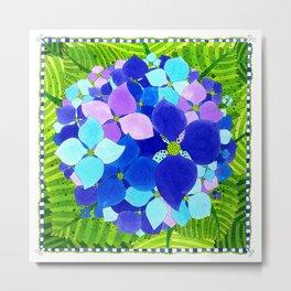 Flower#7 - Hydrangeas Metal Print
