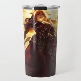 Solar Eclipse Leona League Of Legends Travel Mug