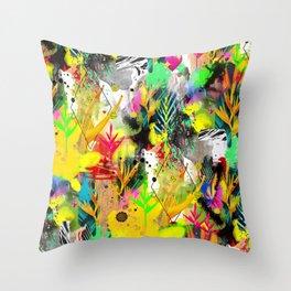 AltErEd tExtUrE Throw Pillow