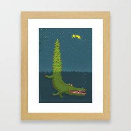 Crocofir Framed Art Print