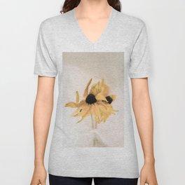 Yellow rudbeckia Unisex V-Neck