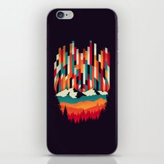 Sunset in Vertical Multicolor iPhone & iPod Skin