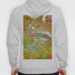 The fires of hell Hoody