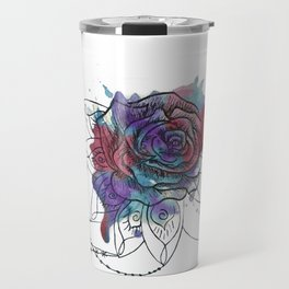 I Create Myself/ Bad Wolf Dream Catcher Travel Mug