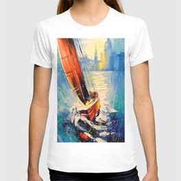 Yacht in the wind T-shirt