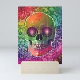 Urban skull Mini Art Print