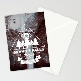 Visit Gravity Falls Stationery Cards