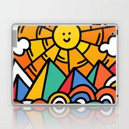 Shiny happy land Laptop & iPad Skin