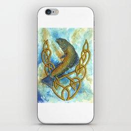 Celtic Salmon iPhone Skin