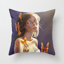 Seeress Throw Pillow