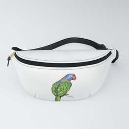 Rainbow Lorikeet Parrot Gift Vibrant Colorful Bird Lover Gift  Fanny Pack