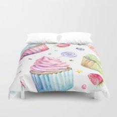 Cupcake Pattern Duvet Cover