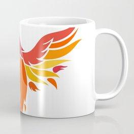 Phoenix With Scorpion Tail Icon Coffee Mug