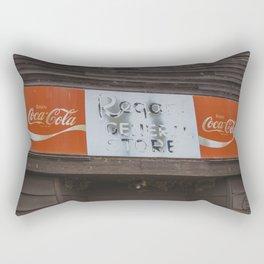 General Store, Regan, North Dakota 5 Rectangular Pillow