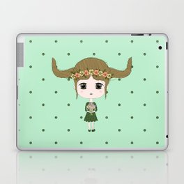 Taurus Girl Laptop & iPad Skin