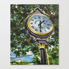 Ellicott City Flood Relief- Clock Canvas Print