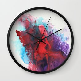 """""""conquer from within"""" art by weart2 Wall Clock"""