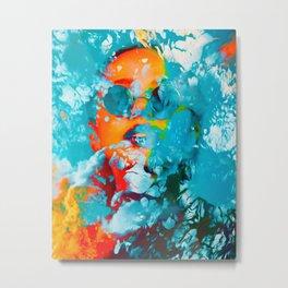 Sana, the colorful woman Metal Print