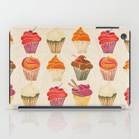 cupcakes iPad Cases featuring Cupcakes by Cat Coquillette