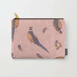 Pink pheasants Carry-All Pouch