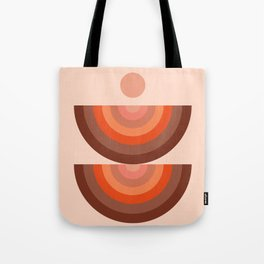 Abstraction_SUN_Rainbow_Minimalism_001 Tote Bag