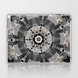 GoldenMandala Laptop & iPad Skin