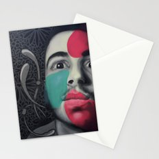 Colour Pressure autorretrato Stationery Cards