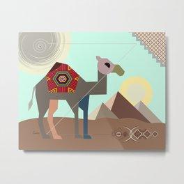 Desert Journey Metal Print