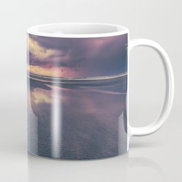 Stormy Beach Sunset Coffee Mug