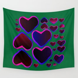 Heart in the countryside Wall Tapestry