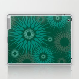 Dark Spiky Burst Laptop & iPad Skin