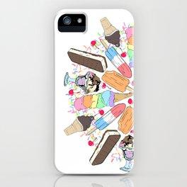 Ice Cream Mandala iPhone Case