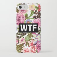 2pac iPhone & iPod Cases featuring WTF by Text Guy