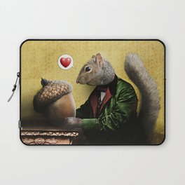 Mr. Squirrel Loves His Acorn! Laptop Sleeve