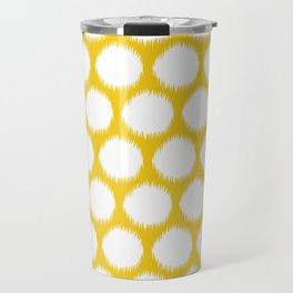 Jonquil Asian Moods Ikat Dots Travel Mug