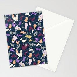 Wonky dogs Stationery Cards