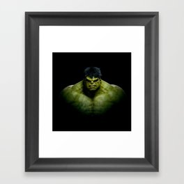 Super Hero 01 Framed Art Print