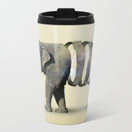 Inner Space Elephant Metal Travel Mug