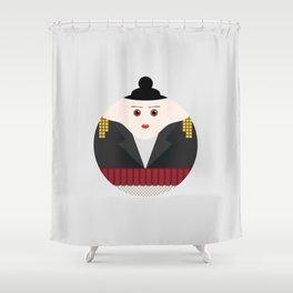 NEW YORK STORIES: GARGOYLES OF NY CHARACTERS #3 GOGO Shower Curtain