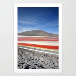 Laguna Colorada, Bolivia Art Print