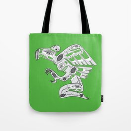 Cyber Punk American Tote Bag