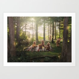 The Teddy Bear's Picnic Art Print