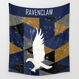 Ravenclaw House Pattern Wall Tapestry