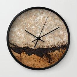 Sediments  Wall Clock