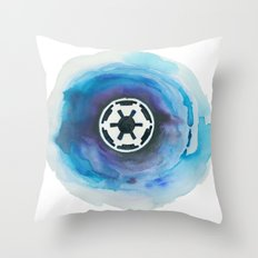 Star Wars Imperial Watercolor Painting Throw Pillow