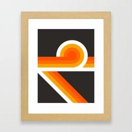 Flame Looper Framed Art Print