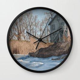 Bay Port Wall Clock