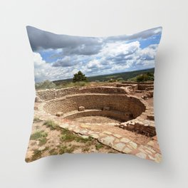 Dominguez-Escalante Ruins of the Anasazi, No. 1 of 7 Throw Pillow